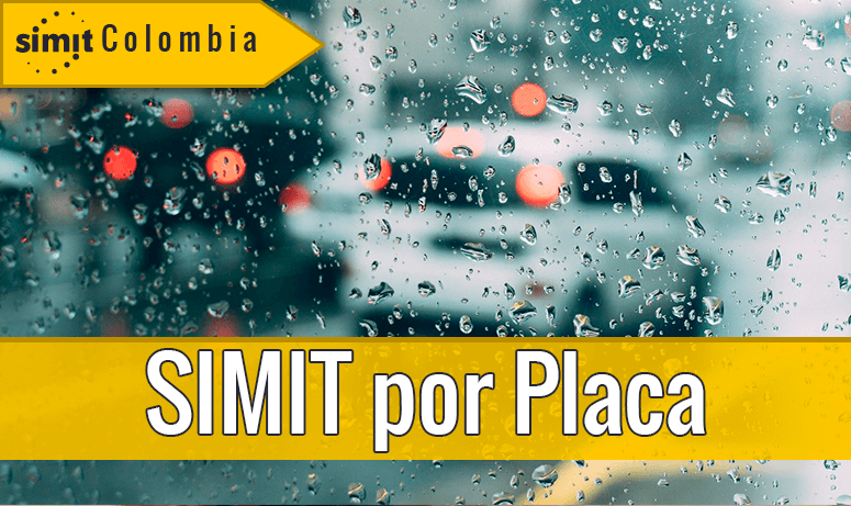 consultar simit por placa